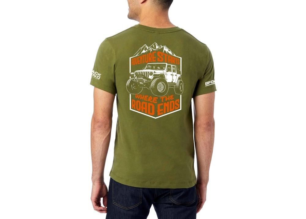 Trail Built X Black Rhino Tee (Green)