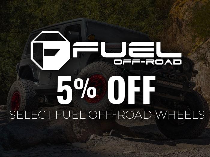 5% Off Fuel Wheels