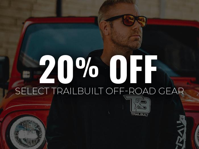 20% Off TrailBuilt Gear