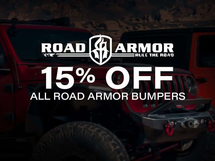 Road Armor Bumpers 15% Off