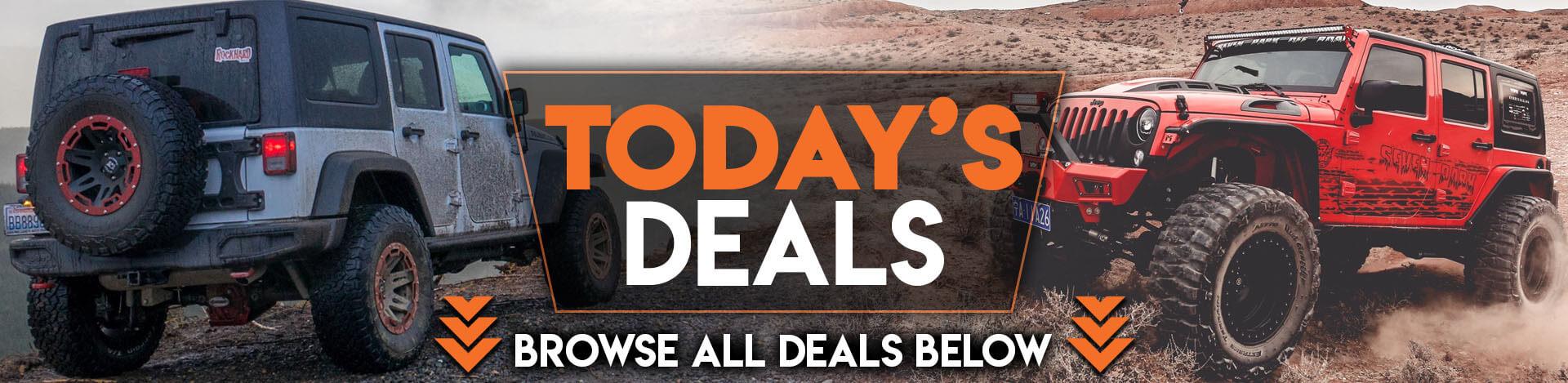 Today's Deals Banner Desktop