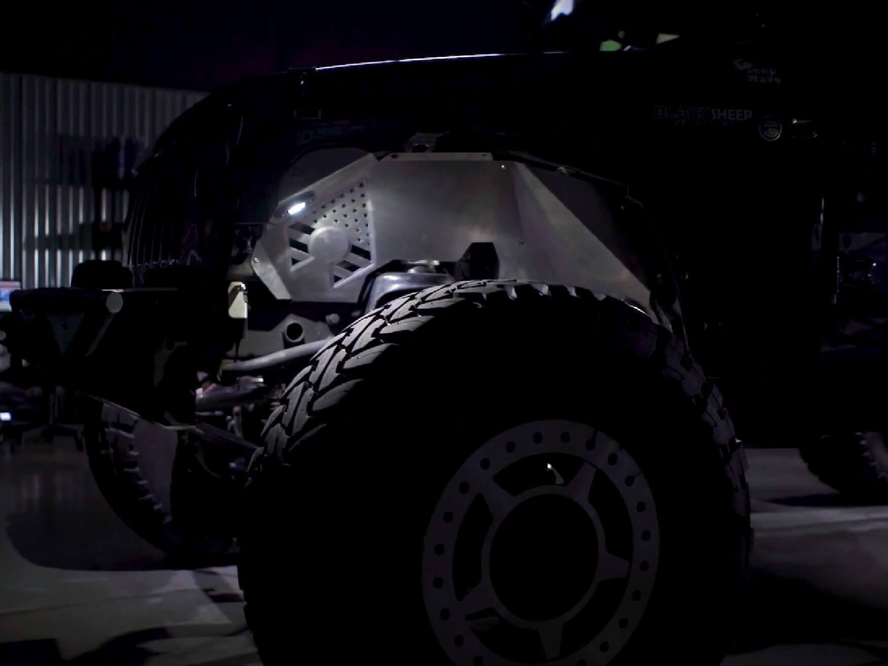 TrailBuilt Rock Lights by Black Label Lighting