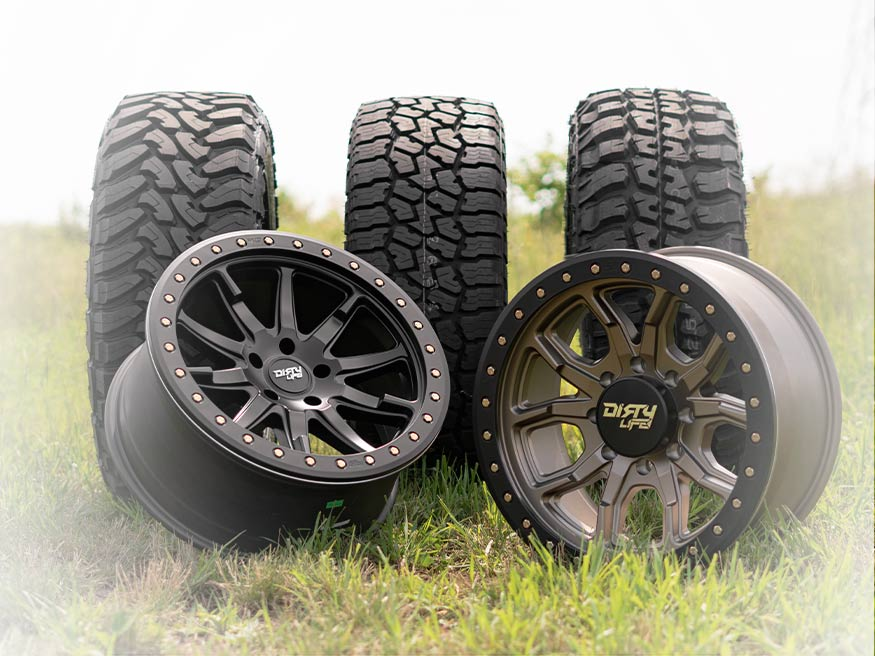 TrailBuilt Wheels & Tires