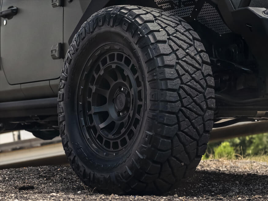 TrailBuilt Off-Road Tires