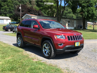 "2014 Jeep Grand Cherokee - 20x9 34mm - OE Performance 137 - Suspension Lift 2.5"" - 275/55R20"