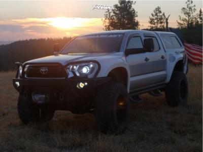 "2013 Toyota Tacoma - 20x12 -44mm - Anthem Off-Road Enforcer - Suspension Lift 6"" - 37"" x 13.5"""