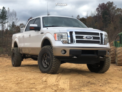"2011 Ford F-150 - 16x8 55mm - American Racing Ar201 - Leveling Kit - 35"" x 12.5"""
