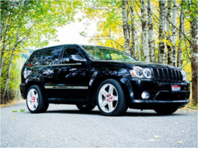 2007 Jeep Grand Cherokee - 20x10 50mm - Factory Reproduction Fr63 - Stock Suspension - 285/50R20