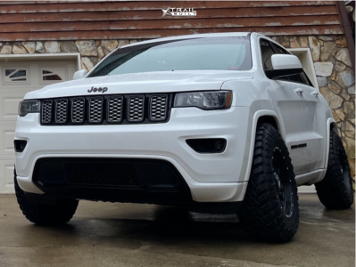 2017 Jeep Grand Cherokee - 17x9 0mm - Anthem Off-Road Avenger - Stock Suspension - 265/75R17