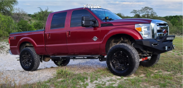 "2016 Ford F-250 Super Duty - 20x9 12mm - Vision Se7en - Suspension Lift 3.5"" - 37"" x 13.5"""