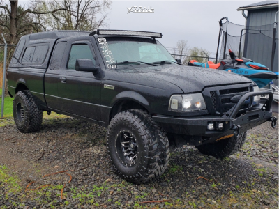 "2003 Ford Ranger - 15x10 -43mm - Fuel Lethal - Suspension Lift 3"" - 33"" x 12.5"""