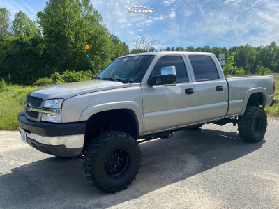 "2004 Chevrolet Silverado 2500 HD - 16x10 -24mm - Pro Comp 51 - Suspension Lift 8"" - 35"" x 12.5"""