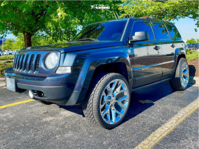 2014 Jeep Patriot - 22x9 24mm - Oe Performance 176 - Leveling Kit - 265/35R22