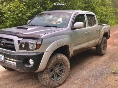 """2008 Toyota Tacoma - 17x8 20mm - HD Reactors - Suspension Lift 2.5"""" - 33"""" x 8.5"""""""