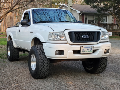 """2004 Ford Ranger - 15x10 30mm - Pacer 162M - Suspension Lift 4"""" - 33"""" x 12.5"""""""