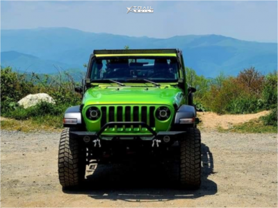 "2019 Jeep Wrangler - 17x8.5 0mm - Vision Fury - Suspension Lift 2.5"" - 35"" x 12.5"""
