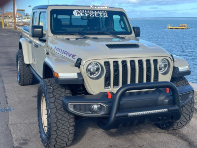 "2020 Jeep Gladiator - 20x9 -12mm - Mamba M26 - Stock Suspension - 35"" x 13.5"""
