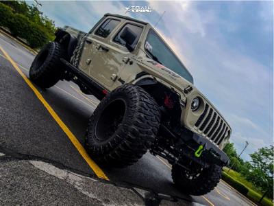 "2020 Jeep Gladiator - 20x12 -44mm - Vision Sliver 360 - Suspension Lift 6.5"" - 40"" x 14.5"""