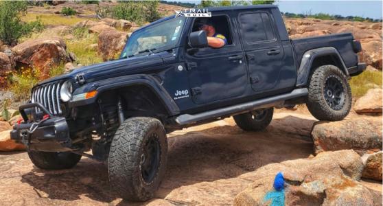 "2020 Jeep Gladiator - 20x14 -76mm - Method Standard - Lifted - 35"" x 12.5"""