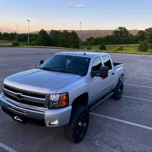"2011 Chevrolet Silverado 1500 - 18x9 0mm - XD Xd795 - Suspension Lift 6"" - 35"" x 11.5"""