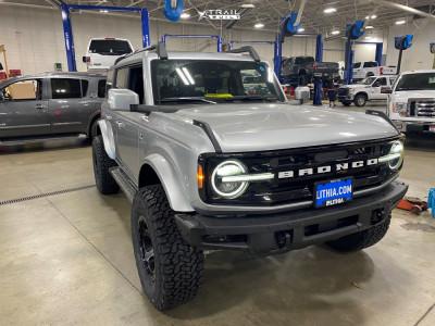 "2021 Ford Bronco - 17x9 -12mm - Fuel Ripper - Suspension Lift 2.5"" - 315/70R17"