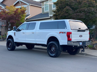 """2019 Ford F-350 Super Duty - 20x9 0mm - XD Snare - Suspension Lift 4"""" - 37"""" x 12.5"""""""
