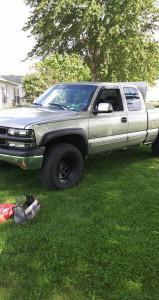 "1999 Chevrolet Silverado 1500 - 17x9 -19mm - Pro Comp Series 97 - Stock Suspension - 33"" x 12.5"""
