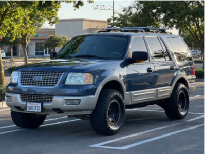 """2006 Ford Expedition - 17x9 0mm - Centerline ATLAS 850BZ - Leveling Kit - 33"""" x 12.5"""""""