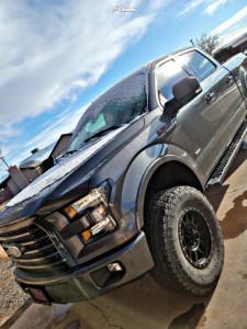 "2017 Ford F-150 - 18x10 0mm - Method M309 - Suspension Lift 4"" - 35"" x 12.5"""