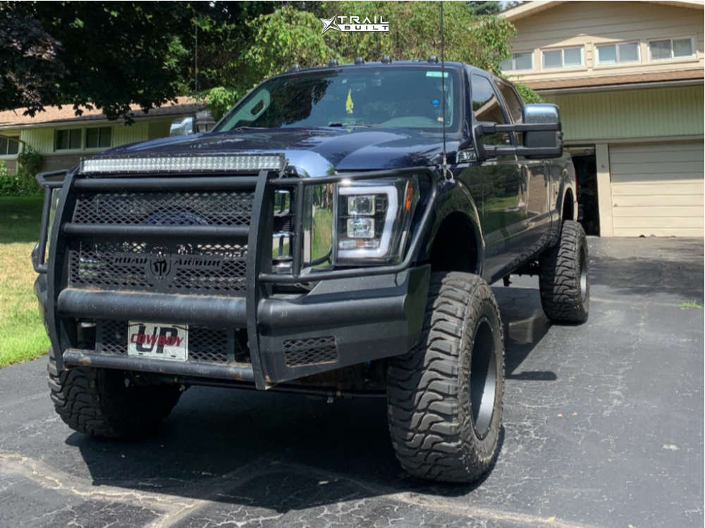 12 2014 F 250 Super Duty Ford Rough Country Suspension Lift 6in Vision Rocker Black