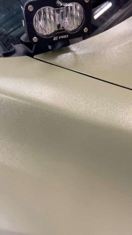 16 2018 Tacoma Toyota Rock Krawler Suspension Lift 25in Icon Alloys Rebound Black
