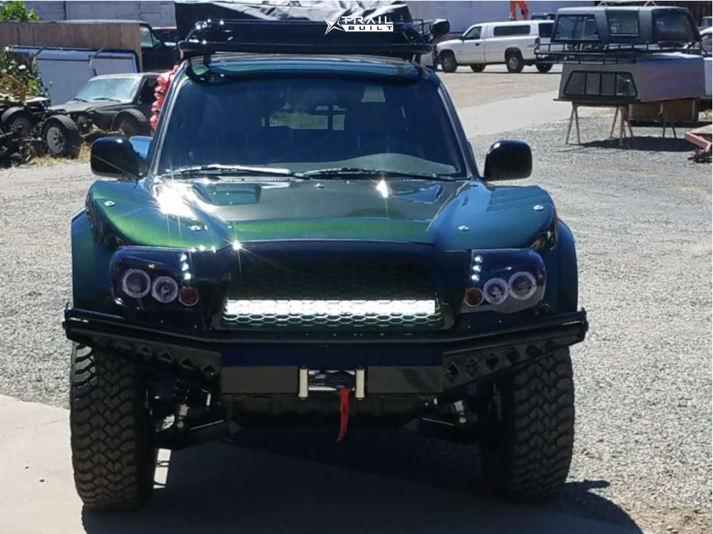 2 1998 Tacoma Toyota Suspension Lift 25in Raceline Vector Matte Black