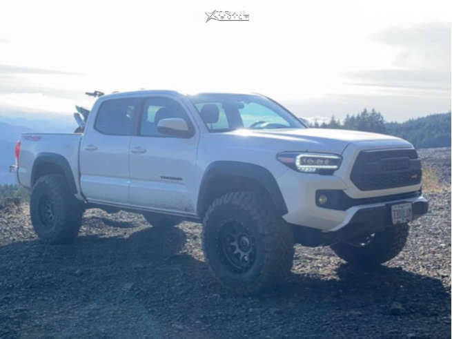 4 2016 Tacoma Toyota Bilstein Suspension Lift 3in Stealth Custom Series Ray 10 Gunmetal