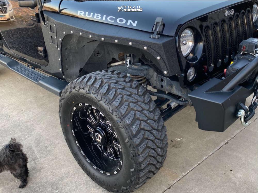 1 2013 Wrangler Jeep Rubicon Stock Tis 544bm Black