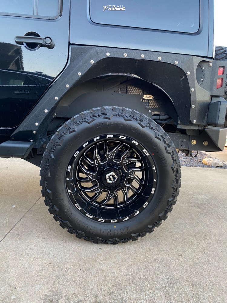 10 2013 Wrangler Jeep Rubicon Stock Tis 544bm Black