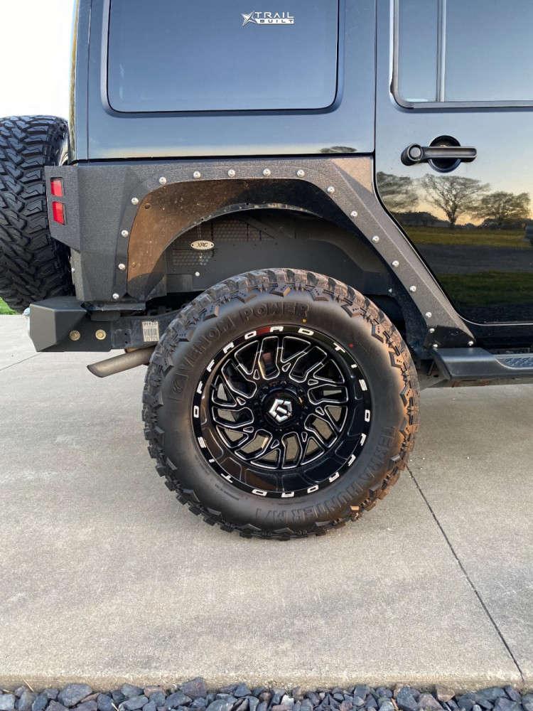 11 2013 Wrangler Jeep Rubicon Stock Tis 544bm Black