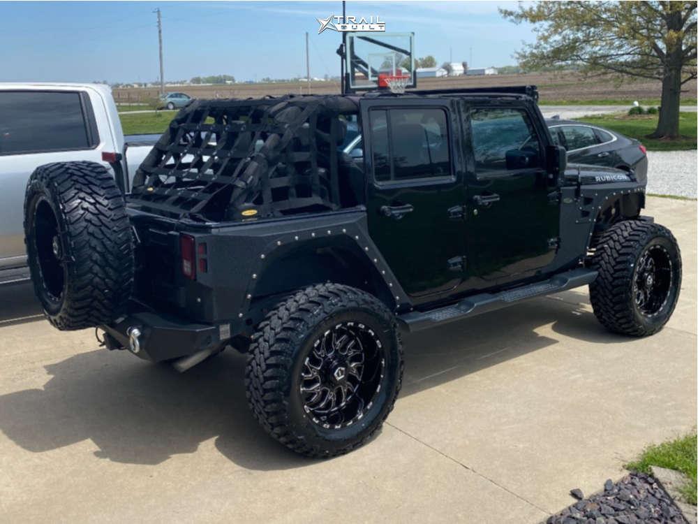 12 2013 Wrangler Jeep Rubicon Stock Tis 544bm Black