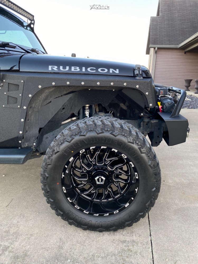 5 2013 Wrangler Jeep Rubicon Stock Tis 544bm Black