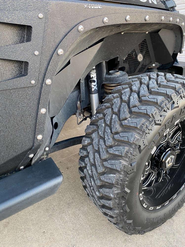 6 2013 Wrangler Jeep Rubicon Stock Tis 544bm Black