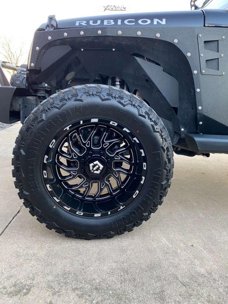 8 2013 Wrangler Jeep Rubicon Stock Tis 544bm Black