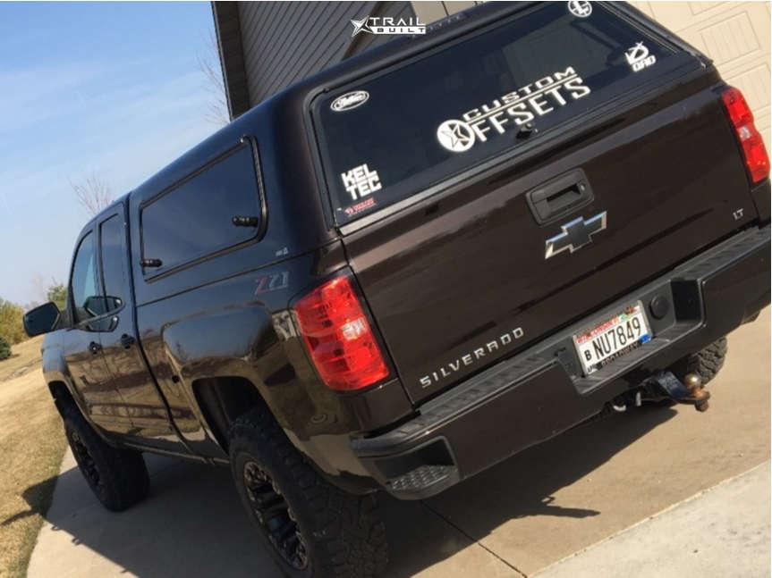 4 2018 Silverado 1500 Chevrolet 3 Inch Level Leveling Kit Fuel Vapor Black
