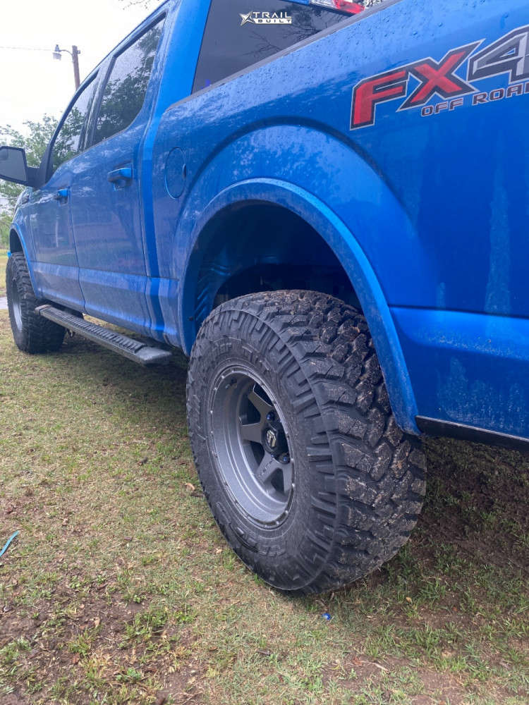 10 2020 F 150 Ford Eibach Leveling Kit Fuel Shok Anthracite
