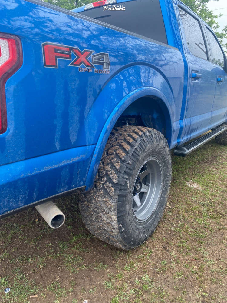 11 2020 F 150 Ford Eibach Leveling Kit Fuel Shok Anthracite