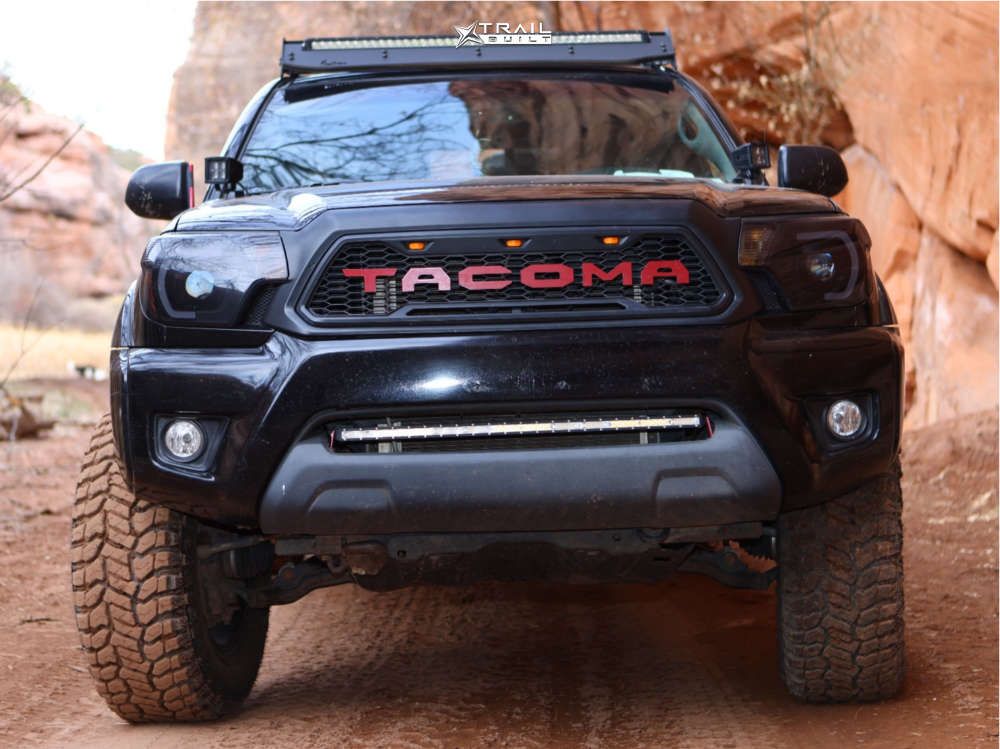 2 2012 Tacoma Toyota Bilstein Suspension Lift 3in Gear Big Block Black