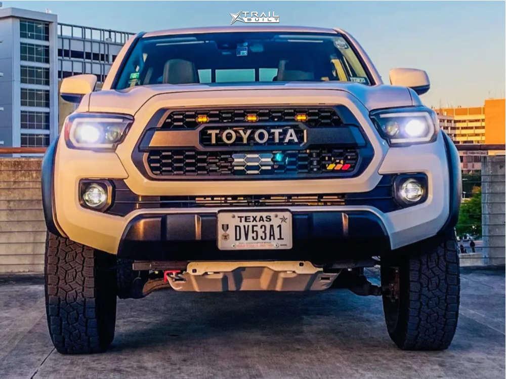 2 2020 Tacoma Toyota Bilstein Leveling Kit American Outlaw Lonestar Bronze