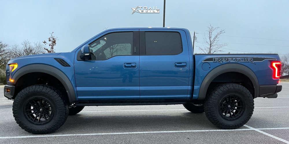 14 2020 Raptor Ford Bds Suspension Lift 45in Fuel Rebel Black
