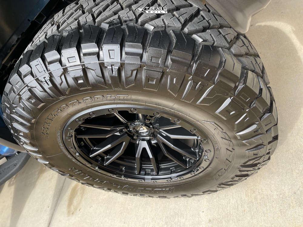 9 2020 Raptor Ford Bds Suspension Lift 45in Fuel Rebel Black