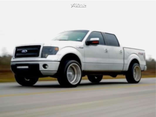 1 2014 F 150 Ford 2 Inch Level Leveling Kit American Force Kash Ss Polished