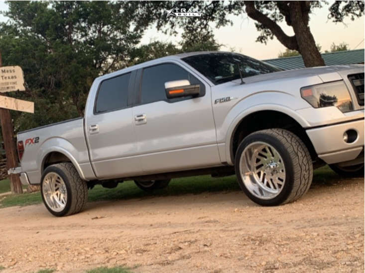 13 2014 F 150 Ford 2 Inch Level Leveling Kit American Force Kash Ss Polished