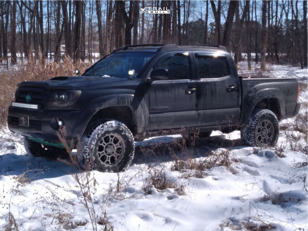 14 2007 Tacoma Toyota 3 Inch Level Suspension Lift 35in Vision Utech Machined Black